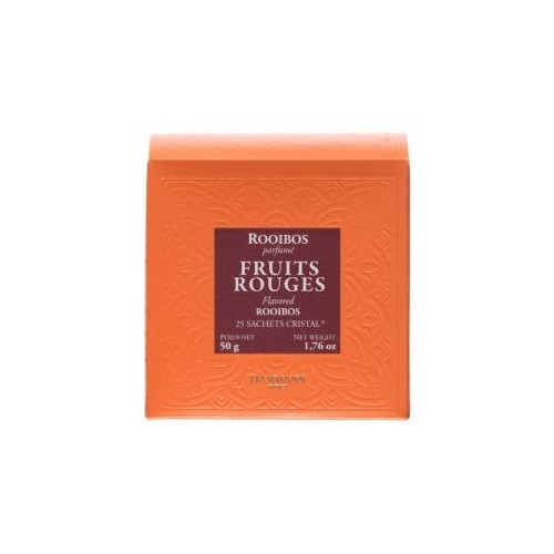 Rooibos Fruits Rouges - 25 sachets cristal