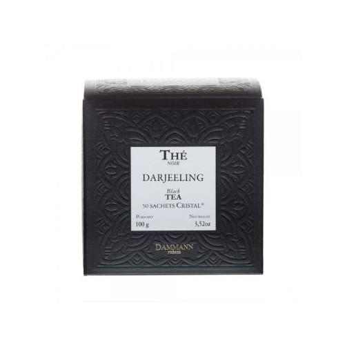 Thé noir - Darjeeling - 50 sachets cristal