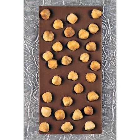 Tablette chocolat noisettes