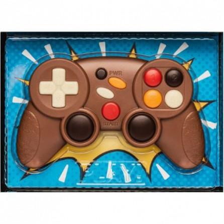 Manette de jeux vidéo en chocolat