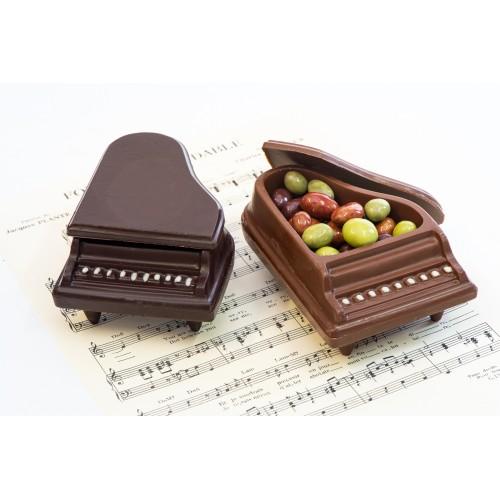 Piano à queue chocolat
