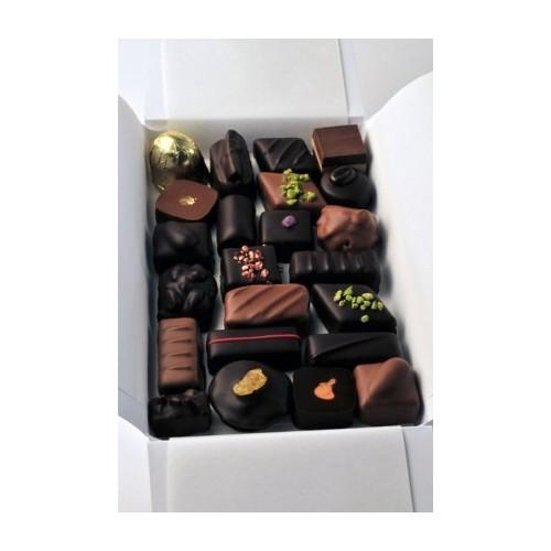 Ballotin de chocolats fabrication artisanale